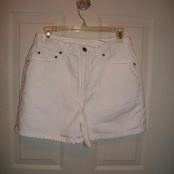 10494b7068 Vintage Shorts | 90s White Denim Size 810 | Poshmark
